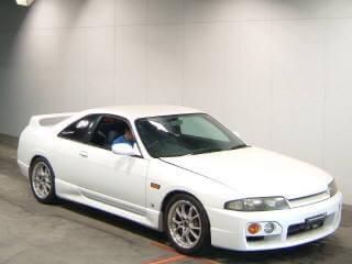 nissan skyline r33 GT-st Front    jp-importcars