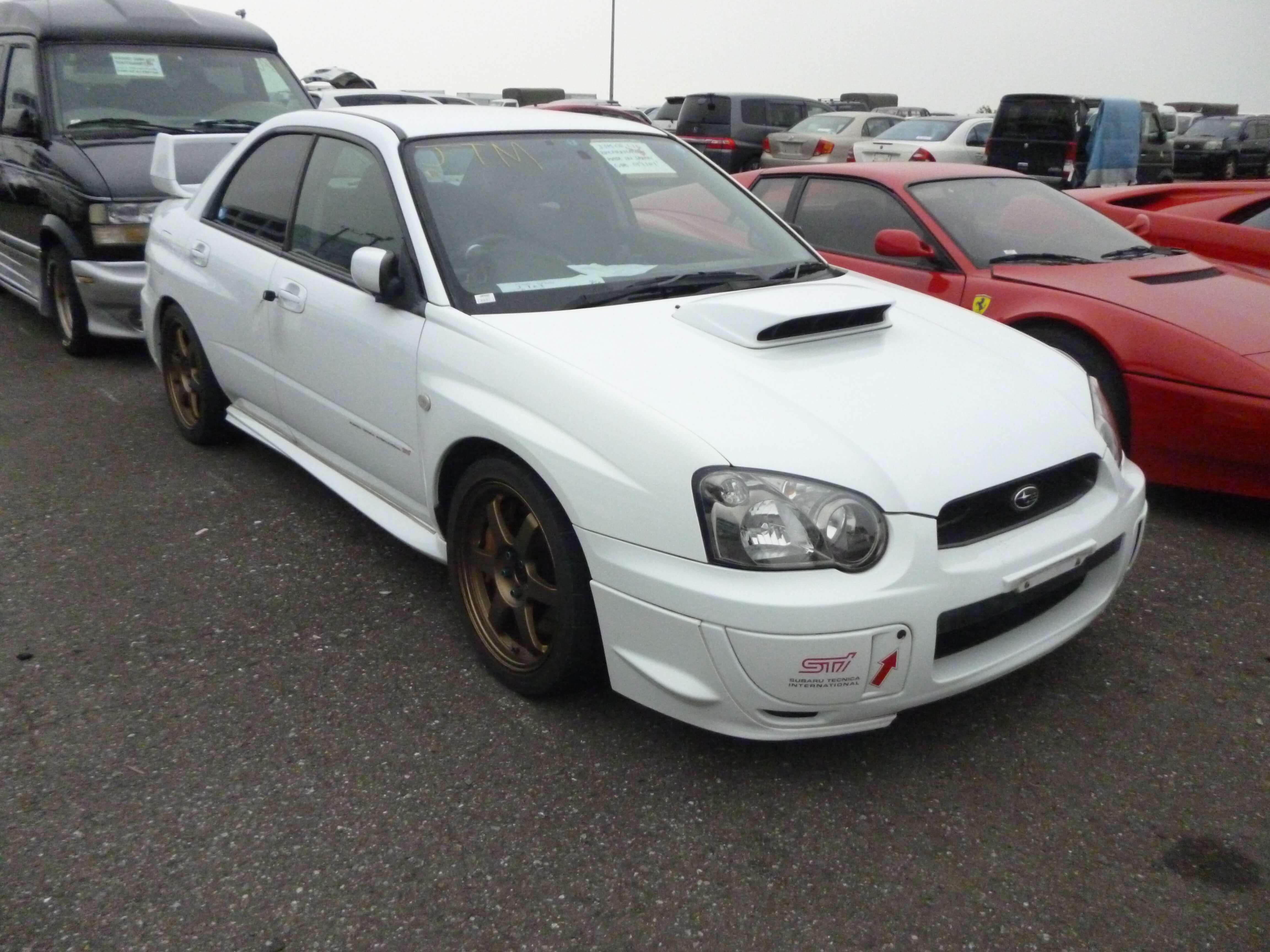 Subaru Impreza STI WRX Front