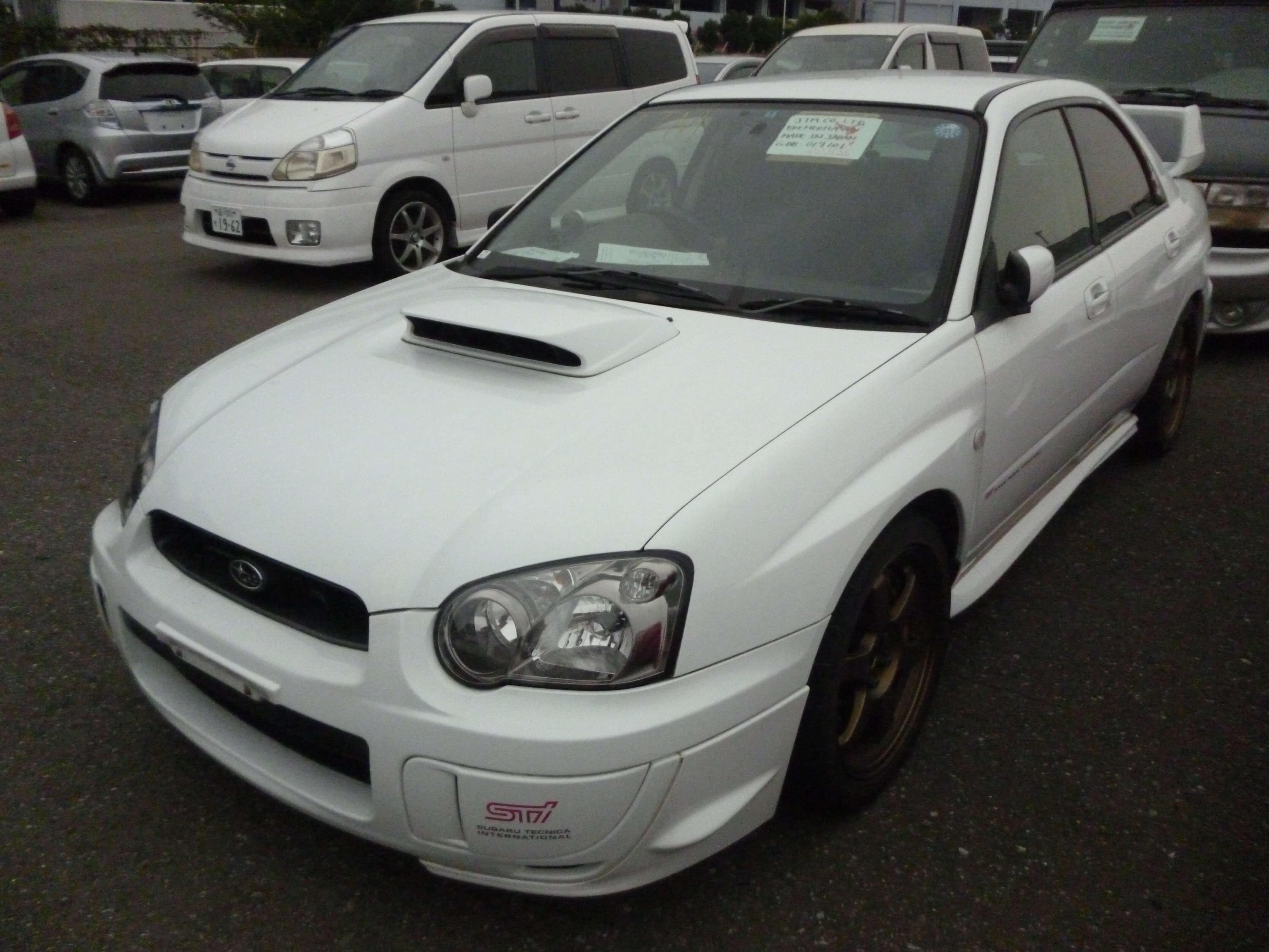 Subaru Impreza STI WRX Aussen