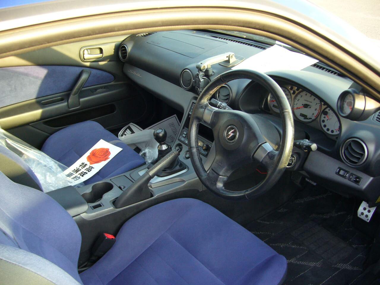 Nissan Silvia S15 Spec-R Blau Cockpit Jp-Importcars