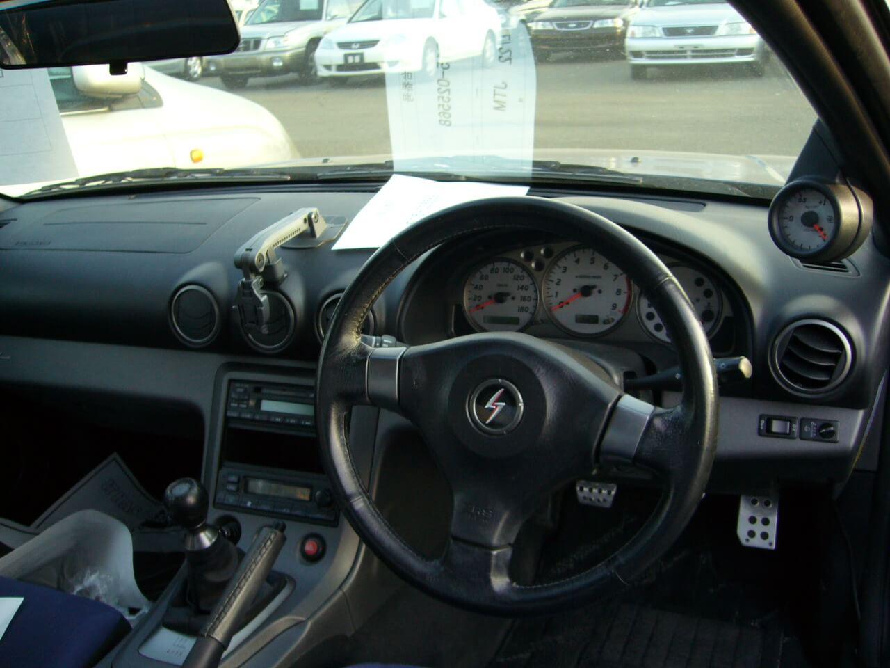 Nissan Silvia S15 Spec-R Blau Innenraum Jp-Importcars