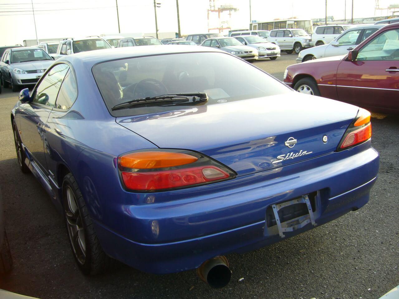Nissan Silvia S15 Spec-R Blau Heck
