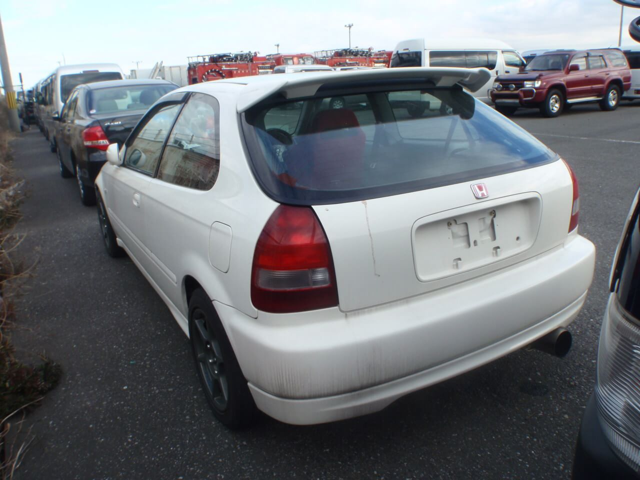 Honda Civic EK9  Type R Heck