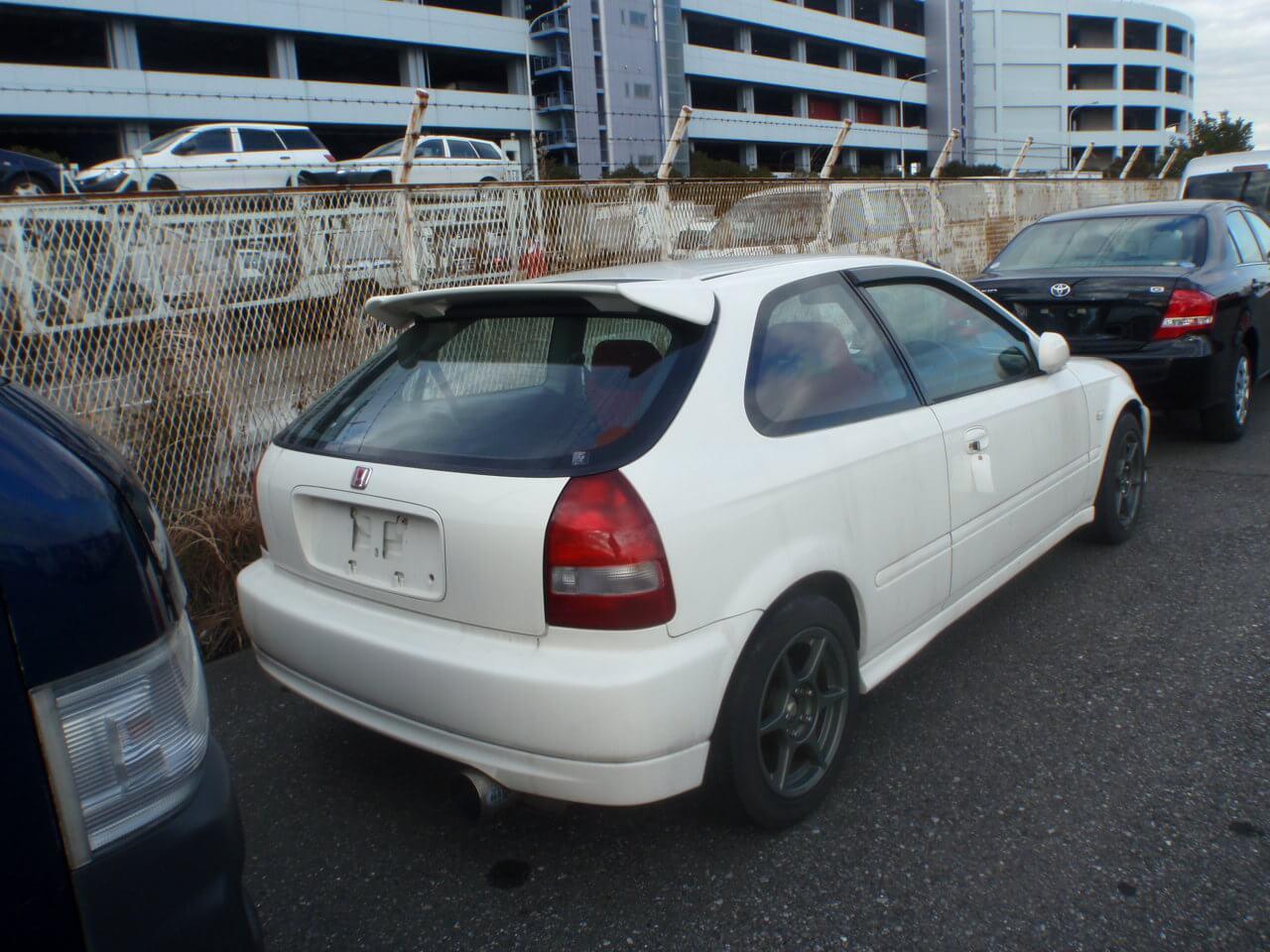 Honda Civic EK9 Heck