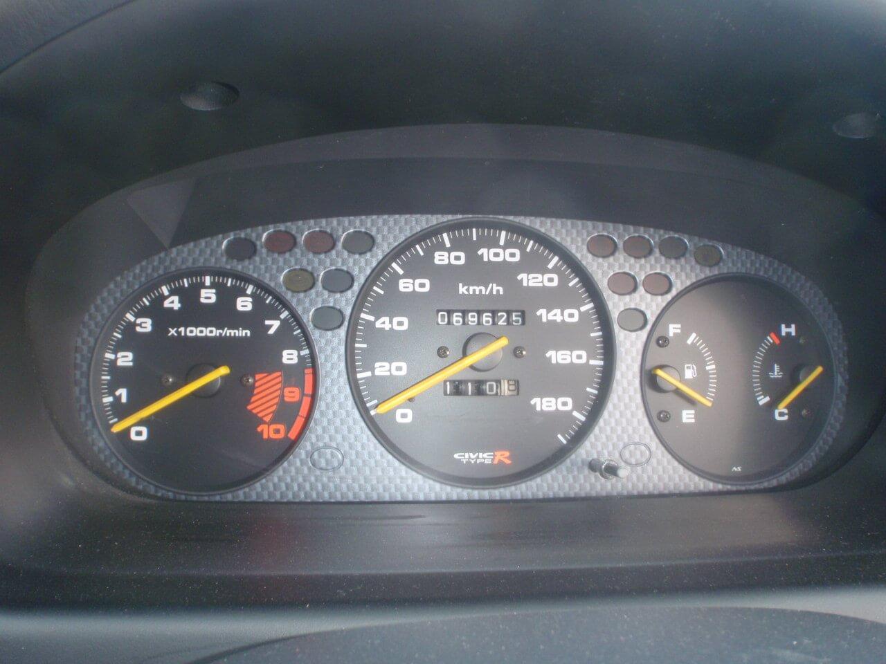 Honda Civic EK9 Tacho