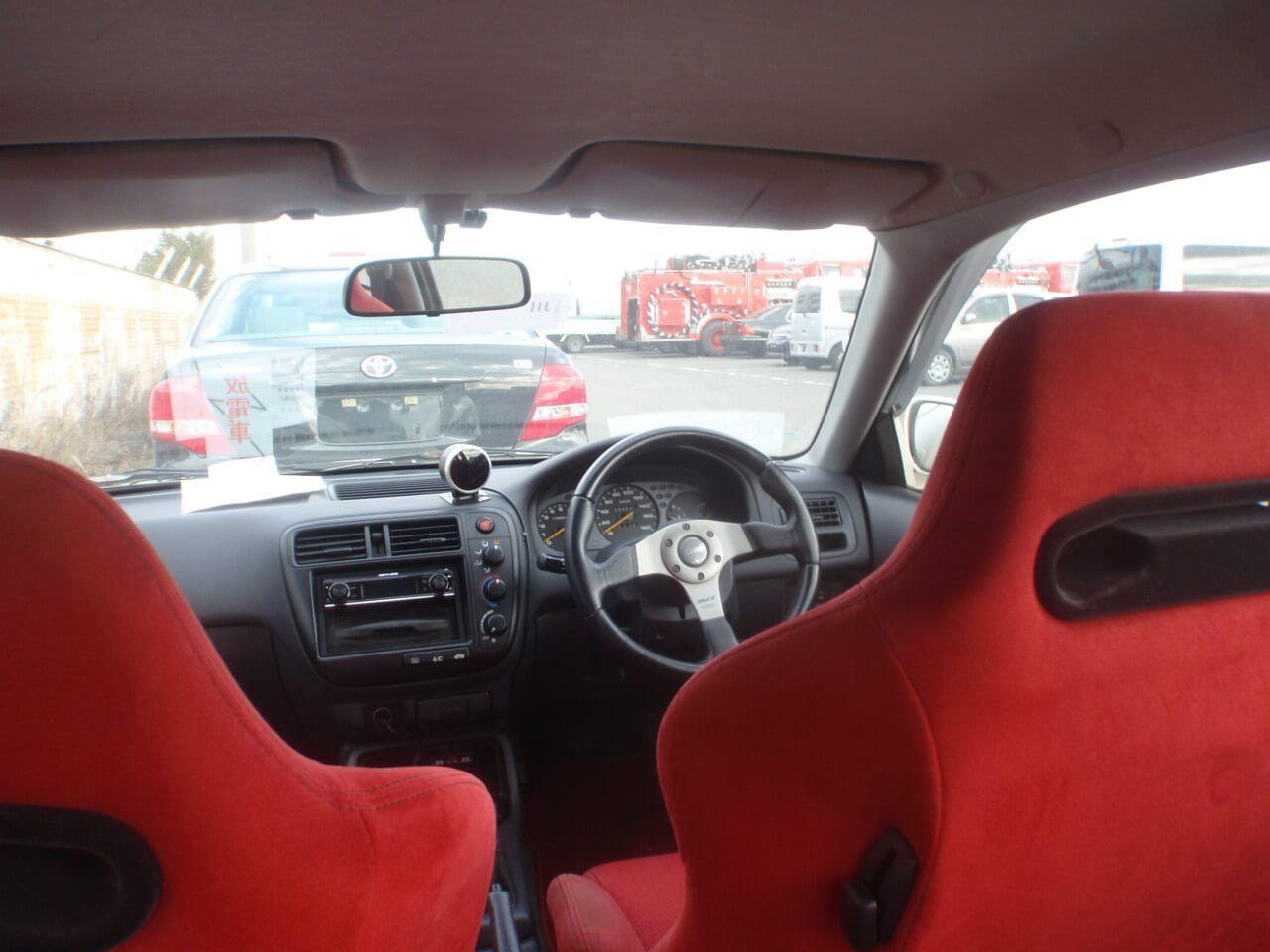 Honda Civic EK9 Innenraum Recaro