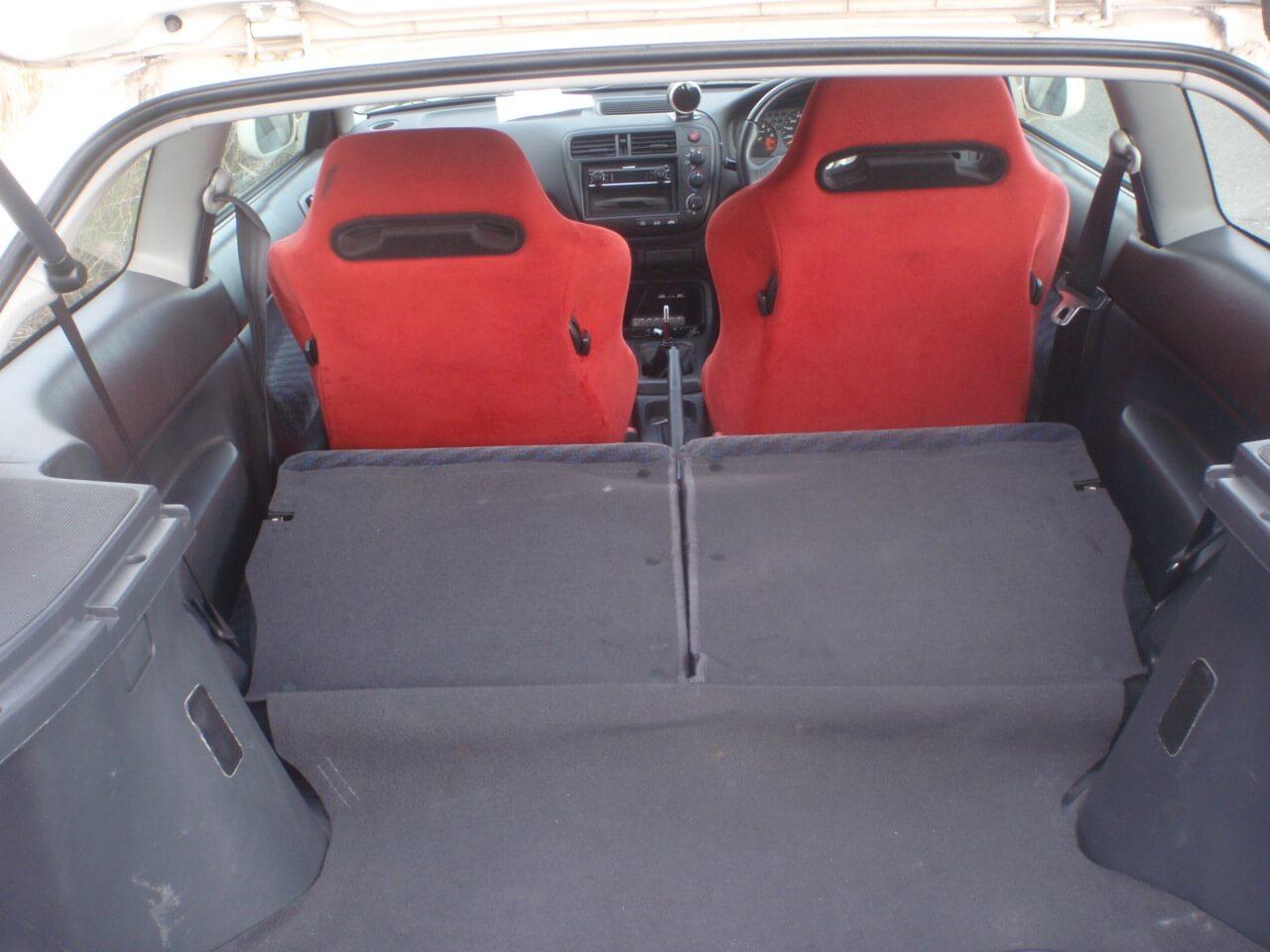 Honda Civic EK9 Innenraum