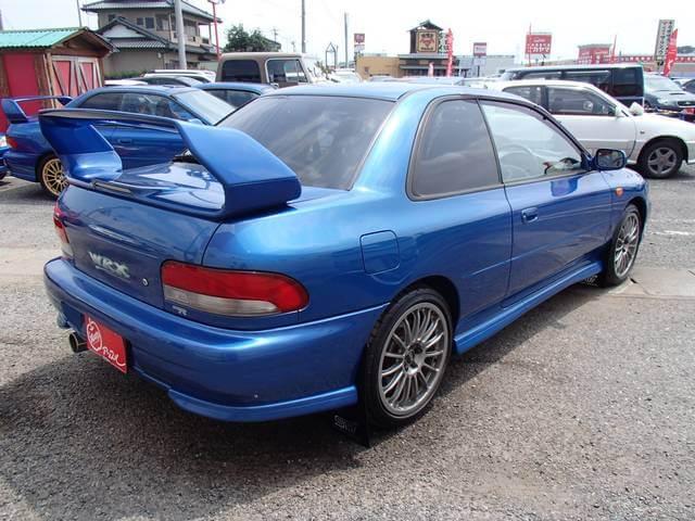 Subaru Impreza STI WRX LINITED Heck