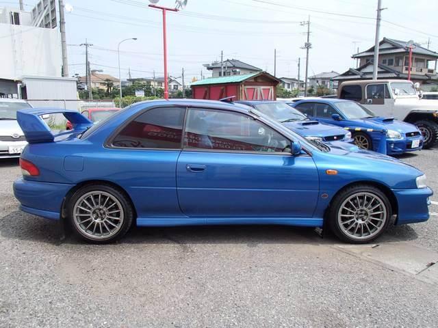 Subaru Impreza STI WRX LINITED seiten Ansicht