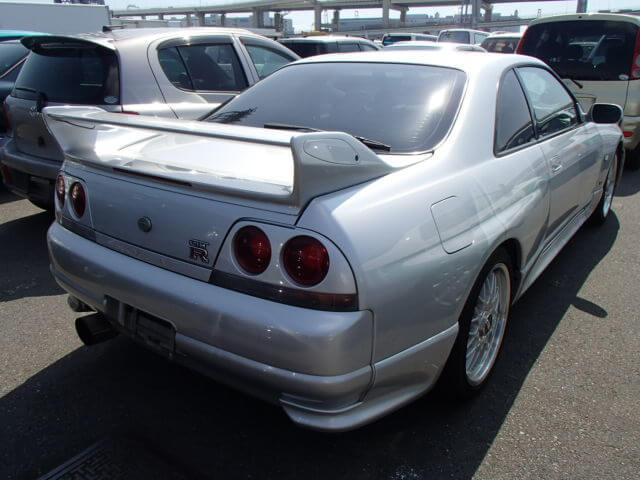 Nissan Skyline R33 GTR Heck